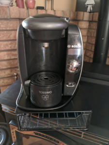 *****TASSIMO COFFEE BREWER WITH TRAY****