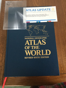 Atlas of the world (NGS)