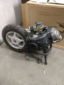 GY6 50cc engine  only 10kms