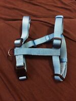 NEVER USED bright blue Medium Dog harness