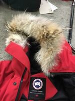 AUTHENTIC CANADA GOOSE RED MEN XS / Youth XL