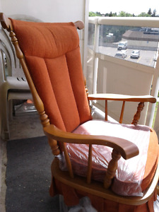 Rocking chair hand crafted