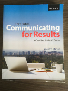 Communicating for Results Third Edition
