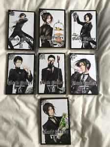 Black Butler Manga Books