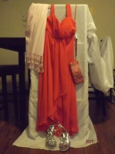 BEAUTIFUL ROSE COLORED COCKTAIL OUTFIT FOR MULTIPLE OCCASIONS