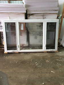 86x50 picture window with operating sides