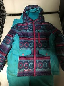 Girls size 6 Winter jacket and ski pants