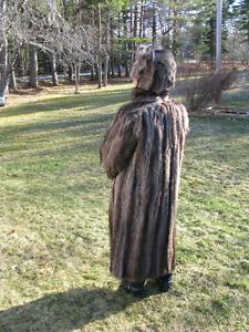 Woman's Raccoon Coat - Full Length