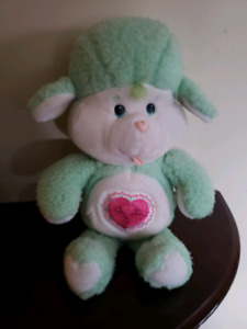 "Vintage 13"" gentle heart lamb Plush care bear."
