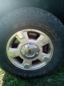 2010 ford f150 tires and rims
