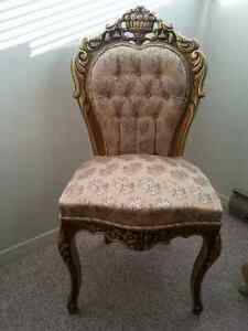 MAGNIFICIENT  BAROQUE STYLE LOUIS XV  FRENCH CHAIRS