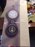 Select Edition SE Wooden Wall Clock Brand New in Box.   Box has