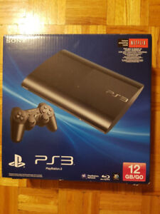 Playstation 3 Super Slim Great Condition + Controllers + Games