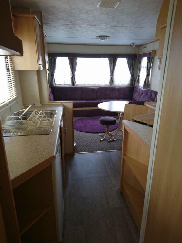 Starter Caravan Sited North Wales Coast Robin Hood Holiday Park Pet