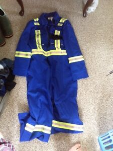 Flame resistant coveralls new