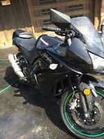 Ninja 250cc ONLY 15800 kms !