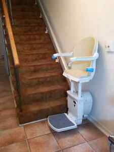 Like new specialty stairlift! Standing model with narrow chair!!