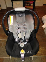 Chico infant car seat and base