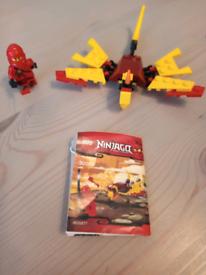 Lego Ninjago set 30083 Kai with dragon
