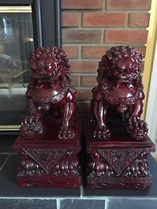 2 Piece Foo Dogs