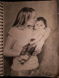 Pencil Portraits/Drawings
