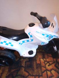 Rechargeable battery bike
