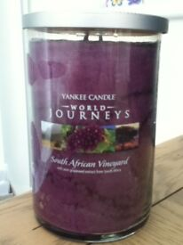 Yankee candle (south African vineyard)