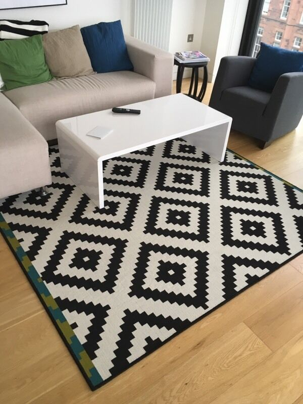 rug low pile lappljung ruta ikea 200x200 in edinburgh. Black Bedroom Furniture Sets. Home Design Ideas