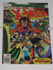 Uncanny X-Men#107 1st Full Star Jammers! comic book