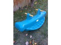 Little Tikes Whale Rocker FREE