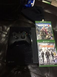 XBOX ONE 500gb 4jeux 0 manette