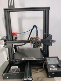 Ender 3 Pro 3D Printer Upgraded