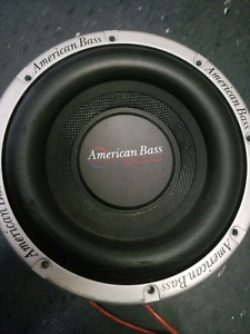 American bass verry rare subwoofer