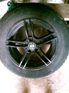 BMW Rims and Snow Tires