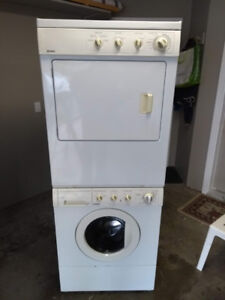 Stacking or Side by Side Washer & Dryer - Fully Serviced