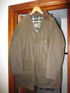 Barbour Ashby Wax Jacket Olive with Snap-on/off Hood