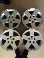 4 rims for jeep