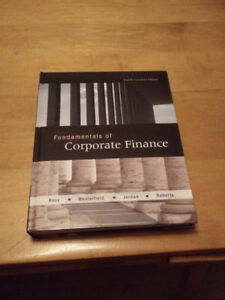 Fundamentals of Corporate Finance Eighth Canadian Edition - Ross