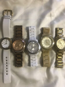 Michael Kors and Marc Jacobs watches- $75 each