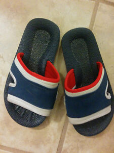 Boy's sandals, size 2 and size 4