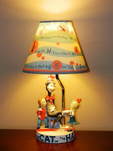 Dr. Seuss' Cat In The Hat Table Lamp Official Movie