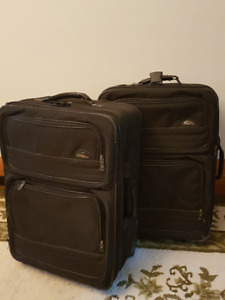 TWO Samsonite suitcases, matched set