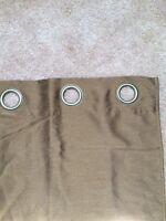 Brown/bronze curtains