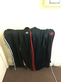 Used Adidas tracksuit bottoms