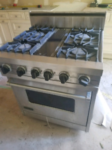Gas and Electric Stove Ultraline Professional