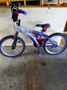 Girls Bike (purple/pink) for sale