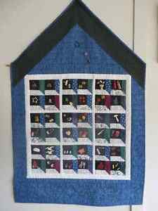 Buttons in the Attic Quilt hanging