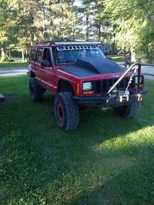 LIFTED 99 jeep Cherokee