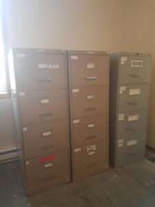 File cabinets for sale