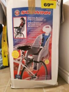 Bicycle child carrier and helmet